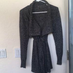 Wool Blend Maternity Sweater